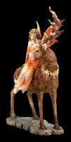 Fairy Figurine - Luana on Stag
