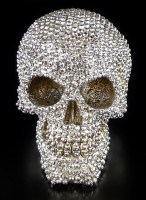 Totenkopf - Priceless Grin mit Diamantoptik