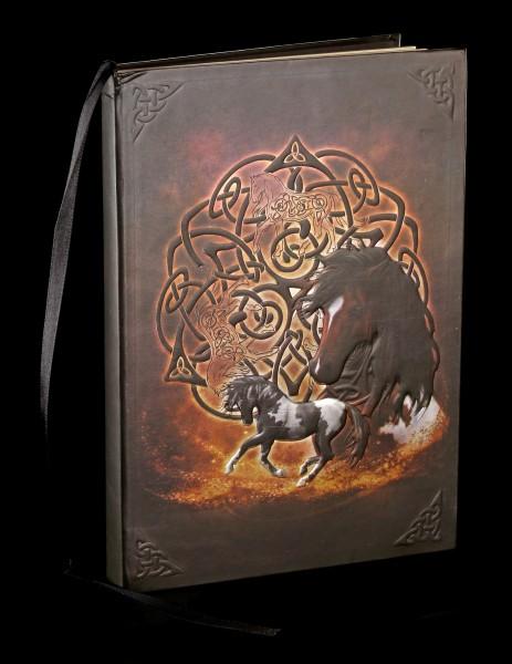 Notizbuch mit Pferd - Celtic Horse