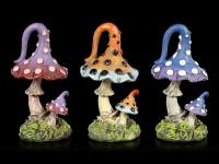 Garten Pilze - 3er Set