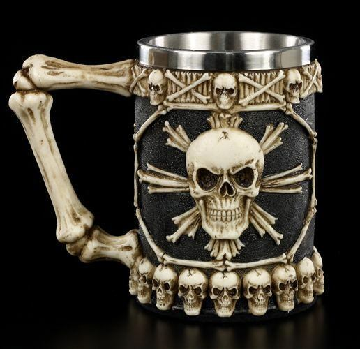 Large Tankard of Skulls