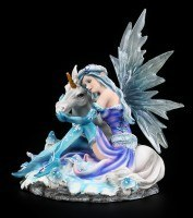 Fairy Figurine - Mia with Unicorn