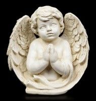 Angel Figurine - Cherub engrossed in Prayer