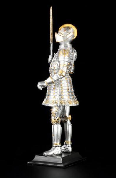 Ritter Figur auf Base mit Hellebarde