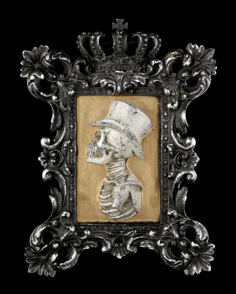 Wall Plaque Skeleton - Monsieur Portrait