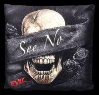 Spiral Gothic Kissen 3er Set - See No Evil