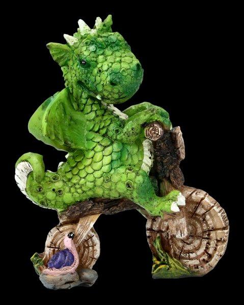 Süße Drachen Figur - Lust auf ein Rennen