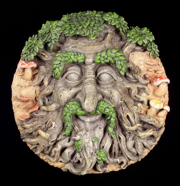 Forest Spirit Wall Plaque - Keeper of the Forest