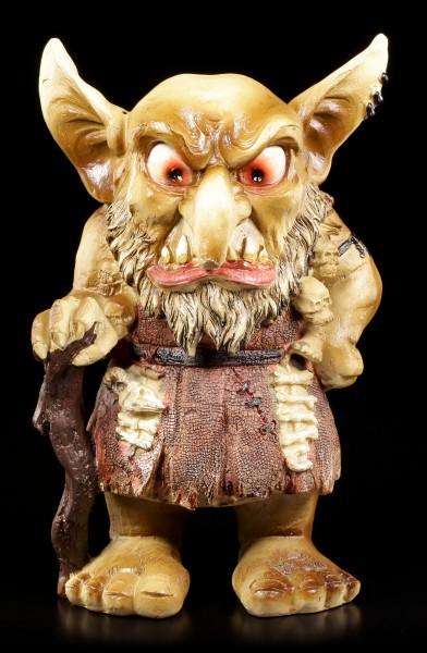 Troll Figur - Auralm mit grimmigem Gesicht