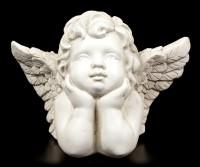Angel Figurine - Pensively Cherub