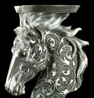 Horse Candle Holder with Ornaments