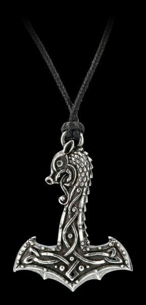 Alchemy Wikinger Halskette - Drakkar Hammer