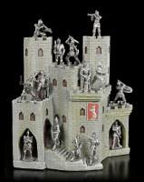 Ritterburg Display für Ritter Figuren