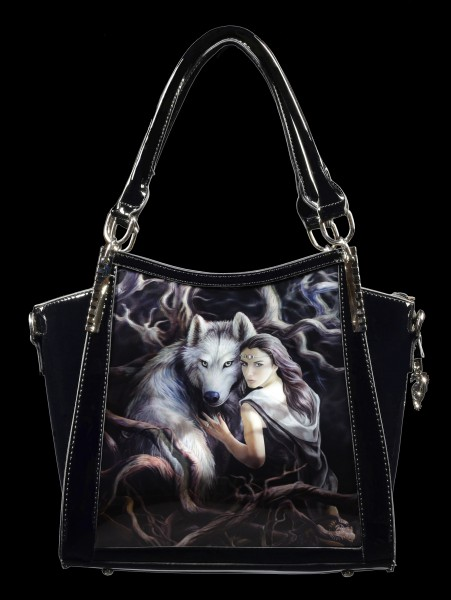 3D Fantasy Handbag with Wolf - Soul Bond