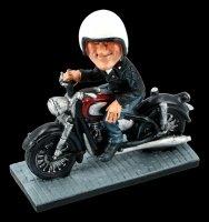 Funny Job Figur - Motorradfahrer