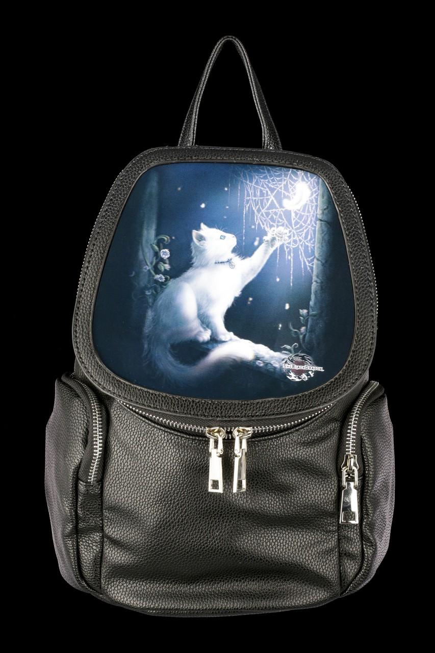 3D Rucksack mit Katze - Snow Kitten