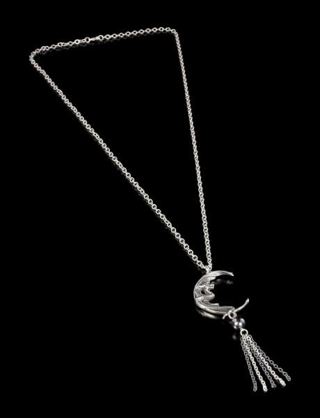 Alchemy Drachen Halskette - Naga Moon
