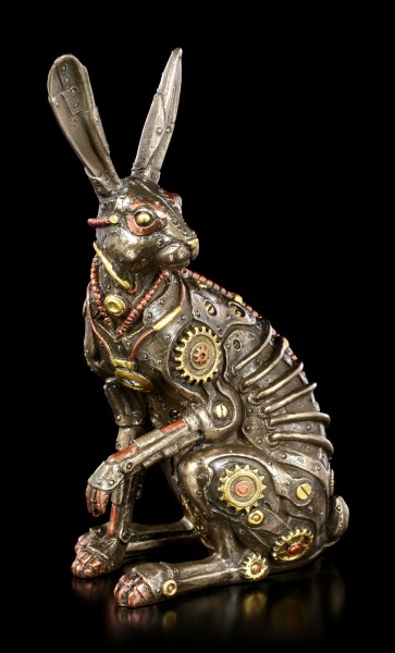 Steampunk Figurine - Sitting Hare