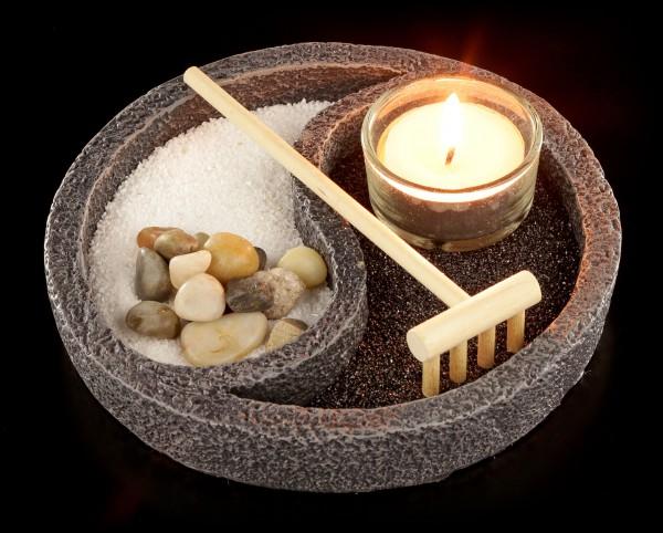 Mini Zen Garten Set - Yin & Yang