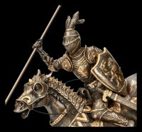 Knight Figurine - On Horse with Spear