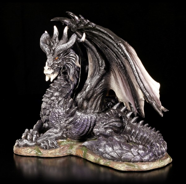 Drachenfigur - Legendary Dark Dragon