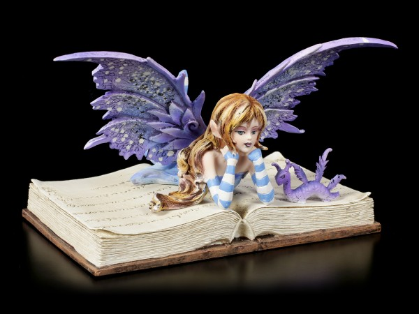 Fairy Figurine - Bookworm Fae by Amy Brown