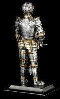 Ritter Figur mit Morgenstern & Schild
