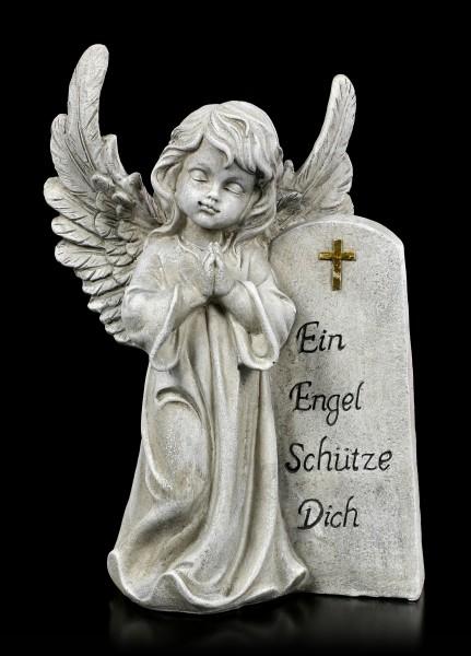 Engel Grab Figur - Ein Engel Schütze Dich