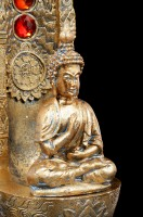 Buddha Räucherstäbchenhalter - Ascending Chakras