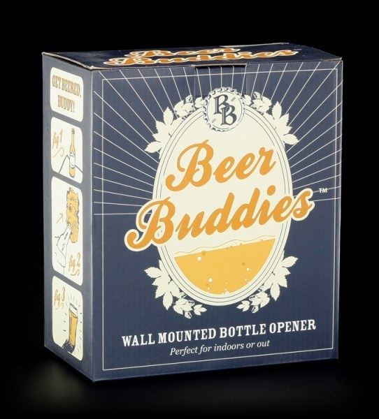 Beer Buddies - Jester - silver finish