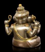 Buddha Figurine - Ganesha - bronzed