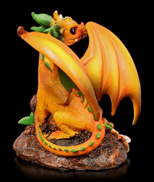 Drachen Figur - Peach Dragon by Stanley Morrison