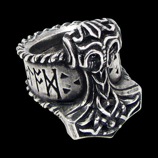 Alchemy Metal Wear - Ring - Thor's Runehammer