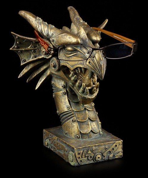 Glasses Holder - Steampunk Dragon