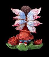 Elfen Figur - Mini Fee mit Rosen