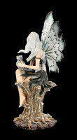 Elfen Figur - Adailoé mit Eule sitzend