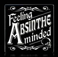 Alchemy Coaster - Feeling Absinthe Minded