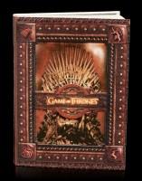 Game of Thrones Notizbuch - Eiserner Thron