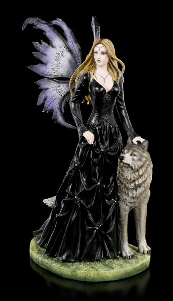 Large Fairy Figurine - Wolf Loveta