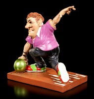 Bowling Player Figurine throws Ball - Funny Sports