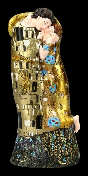 The Kiss Figurine by Gustav Klimt