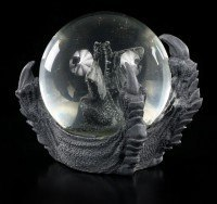 Drachen Schneekugel - Drachenklaue