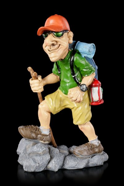 Funny Sports Figurine - Hiker