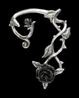 Alchemy Gothic Ohrring - Wild Black Rose