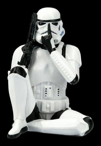 Stormtrooper Figurine - Speak no evil
