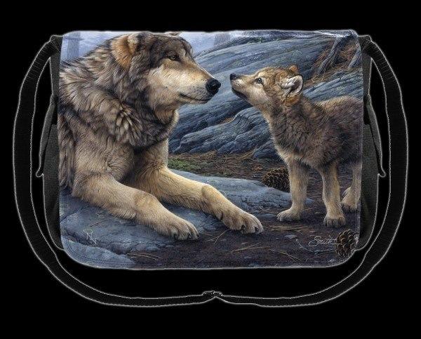 Umhängetasche - Brother Wolf
