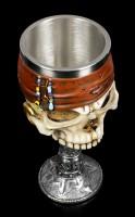 Totenkopf Kelch - Pirat Dead Man's Drink
