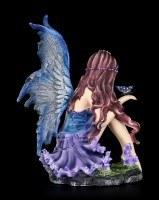 Elfen Figur - Azure bewundert Schmetterling