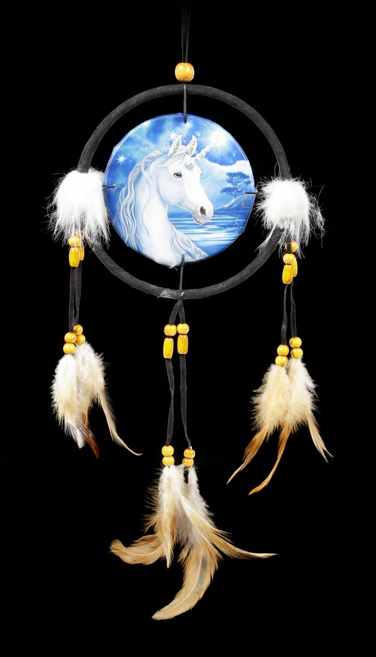 Small Dreamcatcher with Unicorn - Sacred One