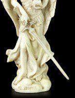 Small Archangel Figurine - Jehudiel - White